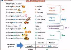LA RONDE DU FLE: LES ARTICLES PARTITIFS - NB1-NB2
