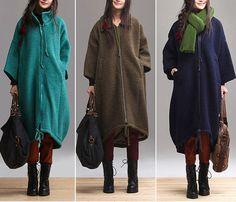 top plus size women clothing  jackets women blouse winter by Aolo, $129.00