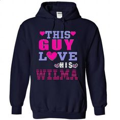 Your WIFE Or girlfriends Is WILMA And You Love Her. - #tee spring #tshirt bemalen. MORE INFO => https://www.sunfrog.com/Names/Your-WIFE-Or-girlfriends-Is-WILMA-And-You-Love-Her-6779-NavyBlue-31942920-Hoodie.html?68278