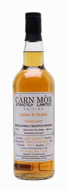 GLEN GARIOCH 2011 6 Year Old Carn Mor, Highlands