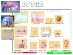 Etoile (carte Sanrio 3) à la caravanerie. animalcrossing-3ds.over-blog.com