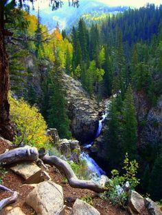 Judd Falls near Crested Butte, Colorado)
