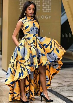 12 Ankara Styles For Ladies - African Wear Outfits Ankara Styles For Ladies - African Wear Outfits. Ankara Styles For Ladies - African Wear Outfits Nigerian Dress Styles, Short African Dresses, Ankara Long Gown Styles, Latest Ankara Styles, Latest African Fashion Dresses, African Inspired Fashion, African Print Fashion, Ankara Fashion, Africa Fashion