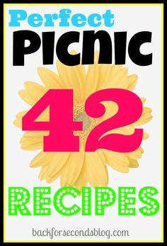 Perfect Picnic Recipes   http://backforsecondsblog.com #recipes #picnic #summer
