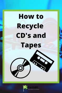 *Pin for Later* I found a ton of tapes in my grandpas house that need to be recycled. So glad I found this site.