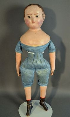 Izannah Walker Chronicles: Withington's to Auction All Original Izannah Walker Doll