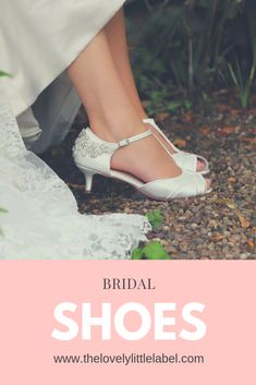The Lovely Little Label Lace Bridal Shoes, Gold Wedding Shoes, Wedge Wedding Shoes, Bridal Sandals, Vintage Style Shoes, Velvet Shoes, Fashion Shoes, Kitten Heels