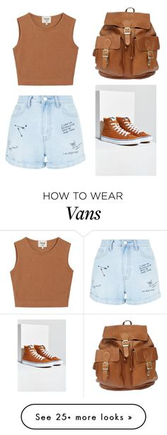 """""""Untitled #36"""" by cartman-hannah on Polyvore featuring Samuji, New Look, Vans, summercamp and 60secondstyle"""