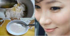 Finally This Japanese Secret Has Been Revealed- Miraculous Rejuvenating Face Mask That Will Prevent Aging Rice Mask, Japanese Face, Japanese Beauty, Nigella Sativa, Cosmetics Ingredients, Anti Aging Treatments, Anti Aging Tips, Beauty Recipe, Anti Aging Cream