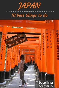 Like the serene Mt. Fuji and Kyoto's ancient temples and shrines, as well as bustling cities like Tokyo. Japan is a wonderful place full of history and culture. You will find yourself immersed in the culture while eating traditional cuisines and authentic sushi everywhere you go. Here is a list of the 10 best things to do in Japan. | #japan #tokyo #kyoto #osaka | tourdelust.com | tourlina.com