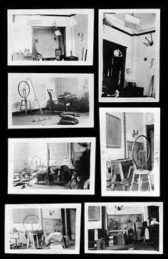 Henri-Pierre Roché, Marcel Duchamp's Studio, 1916-1918