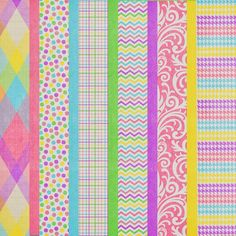 Free Easter Pastels Paper Pack from Harper Finch