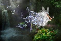 Bubble Flight by =SweediesArt on deviantART