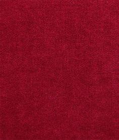 JB Martin Como Velvet Red Fabric - $31.05 | onlinefabricstore.net