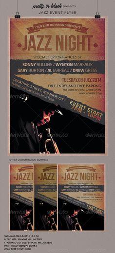 Jazz Event Flyer