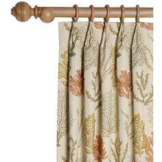 Found it at Wayfair - Caicos Pleated Single Curtain Panel