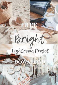 Free Bright Preset | blixcreative