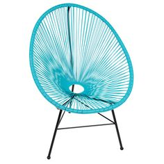 Found it at Wayfair - Acapulco Wire Basket Lounge Chair Indoor/Outdoor Stackable