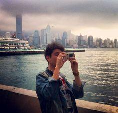 Dan and his phone