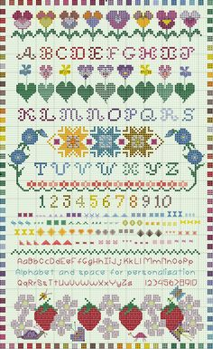 Another Embroiderbee Freebie ~ Spring Sampler 2011