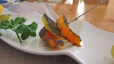 Gebackene Kartoffel- & Kürbisspalten mit Mohn Carrots, Vegetables, Poppy, Carrot, Vegetable Recipes