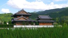 Farm house in Shikoku by Andrew Allan https://flic.kr/p/ggnVr2 | Japanese farm house, Shikoku