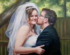 Wedding Portraits | Wedding Paintings | Bridal Portraits #wedding…