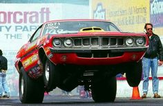 1971 Plymouth Cuda 426 Hemi Dragster