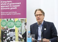 Lord March speaking at the launch of the joint government and UK automotive industry's automotive strategy by bisgovuk, via Flickr