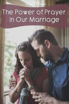 What can have the most powerful impact on your marriage? What can change things...that you can't on your own? The Power of Prayer in Our Marriage ~ Club31Women