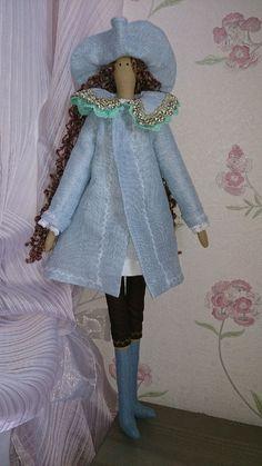 Купить Тильда Благородная Пиратка. 51 см. Интерьерная игровая кукла. - тильда, тильда кукла