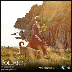 Eleanor Tomlinson as Demelza in wedding dress, made from silk dyed multiple times to get the right color and depth. | Poldark, as seen on Masterpiece PBS Poldark 2015, Demelza Poldark, Poldark Series, Ross Poldark, Merida, Ross And Demelza, Aidan Turner Poldark, Eleanor Tomlinson, Bbc Tv Series