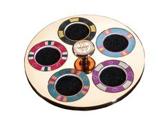 Lancelot Lancaster White Evaluator, choose the value of your poker chips!