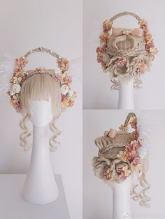 Hair Inspo, Hair Inspiration, Kawaii Wigs, Halloween Make, Fantasy Hair, Hair Reference, Doll Wigs, Wild Hair, Kenma