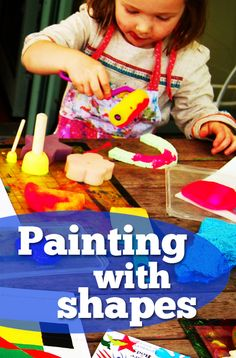 At home with Ali: Painting with shapes - Inspired by artist Sonia Delaunay