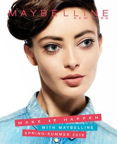 Maybelline Lookbook Spring – Summer 2016 Spring Summer 2016, Maybelline, Skincare, Nail Art, Makeup, How To Make, Beauty, Make Up, Face Makeup