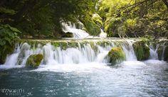 Last week at Plitvice Lakes National Park Croatia [5647x3293] [OC]   landscape Nature Photos