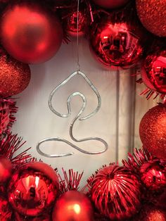 Silver Yoga Christmas Ornament Lotus Pose by TheGomezProject