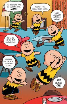 Preview: Peanuts: The Beagle Has Landed, Charlie Brown! TPB, Page 4 of 11 - Comic Book Resources