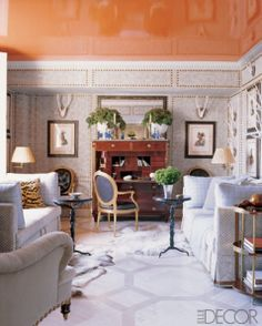 BLIDS Lacquered ceiling