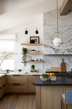 Kitchen Interior, New Kitchen, Kitchen Decor, Stylish Kitchen, Rustic Kitchen, Küchen Design, Home Design, Modern Design, Light Wood Kitchens