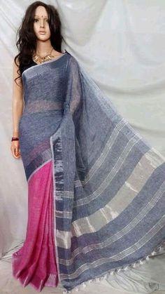 New Arrival Lenin Sarees - Elegant Fashion Wear Elegant Fashion Wear, Trendy Fashion, Women's Fashion, Bandhani Saree, Indian Designer Suits, Saris, Ethnic Fashion, Cool Style, Clothes