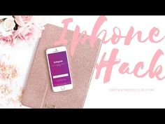 Are you In search of a quick way to get all your hashtags up on Instagram without having to constantly retype them each time you want to post? It's time to learn about text replacement – the iphone hack that makes hashtagging so much easier! I would suggest watching the video above, but if you...Read More