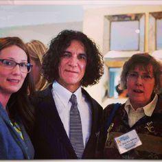 Kate, Dr. Camran Nezhat, Mary Lou Ballweg