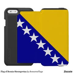 Flag of Bosnia-Herzegovina Incipio Watson™ iPhone 6 Wallet Case