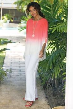 Beachy Linen Pants from Soft Surroundings