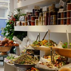 Ottolenghi:  a London restaurant/deli that I must visit some day.  Right up my alley.