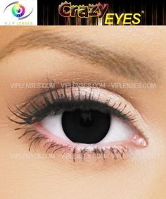 crazy black contact lenses