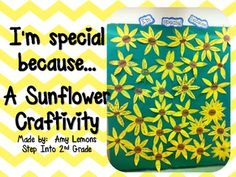 I'm Special Because... {A Sunflower Craftivity} Stand Tall Molly Lou Melon