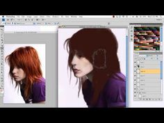 Drawing_Exercise_Review_Hair.mp4 - YouTube
